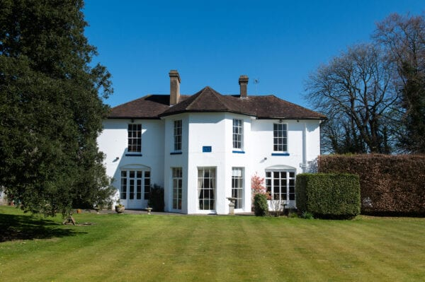 The Old Vicarage property